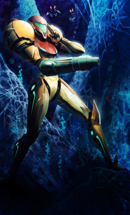 svalts:  Samus Aran - by David Marín Blog | deviantART