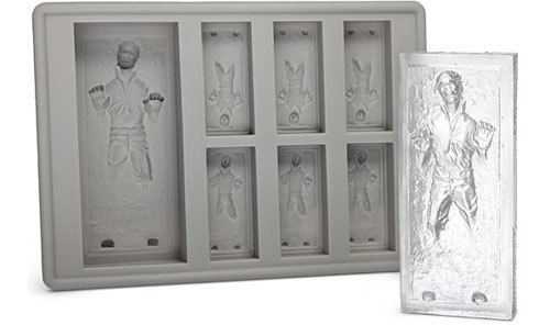 gina:  (via Han Solo in carbonite ice cube tray!!!!)  Why wasn't this done twenty-something years ago! Brilliant.
