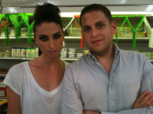 vh1:  Yes, that's Sara Bareilles and yes, that's Jonah Hill. Dayum, guys! [via VH1]
