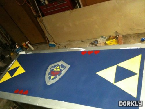 Zelda Beer Pong Table (via Dorkly)
