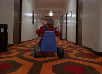 myheadisweak:  The Shining (1980)  This guy in the suit? Oh, he's just giving me head, no big deal.
