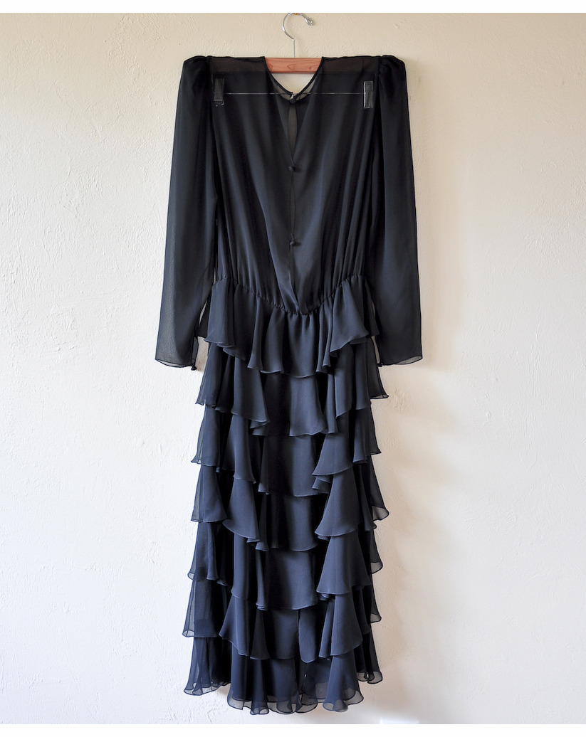 silk chiffon spanish revival