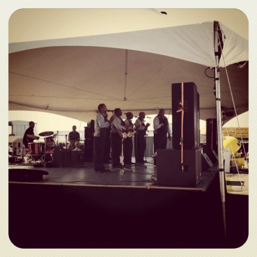 Bells of Harmony-Blues/Gospel band. Sick.  (Taken with instagram)
