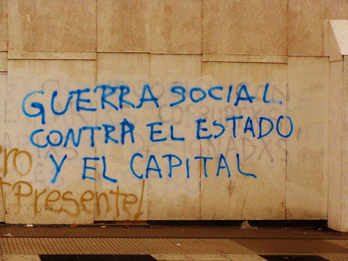 """SOCIAL WAR AGAINST THE STATE AND CAPITAL"""