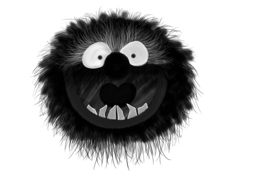 Animal from The Muppet Show illustrated by Yanise Cabrera :: via starrylightbox
