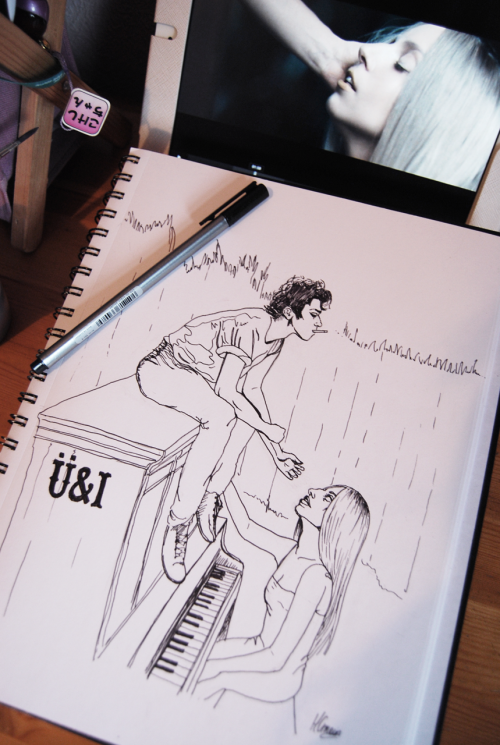 dollychops:  Yoü & I - unfinished