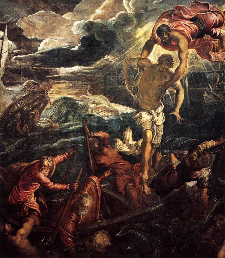 missfolly:  St Mark Rescuing a Saracen from Shipwreck by Tintoretto, 1562-1566