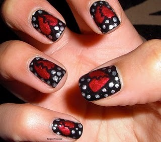 hailnails:  Breakup nails will wipe your tears away