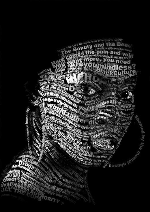 Great! 45 Amazing and Creative Typographic Portraits…