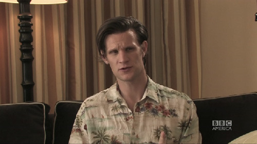 "doctorwho:  Does Matt Smith Consider How His Performance Might Impact Future Doctors?  Angela Gibson poses a fascinating question to conclude our week of BBC America Facebook fan inquiries for the Doctor Who crew. She asks Matt Smith, ""Do you consider how your own take on the Doctor will impact future Doctors?"" That is deep.  Click through for Matt's answer.   I think they mean future doctor…unless the Doctor got a shiny new set of regenerations somewhere in his earlier escapades."