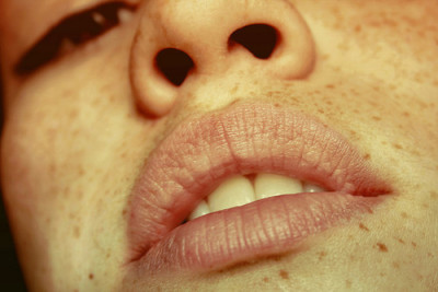 themaxdavis:  Lips and Freckles | Flickr - Photo Sharing! on We Heart It. http://weheartit.com/entry/13923067