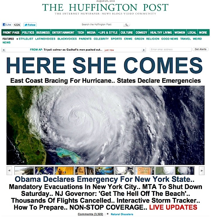 HERE SHE COMES LIVE UPDATES, NON-STOP COVERAGE on HUFFINGTON POST