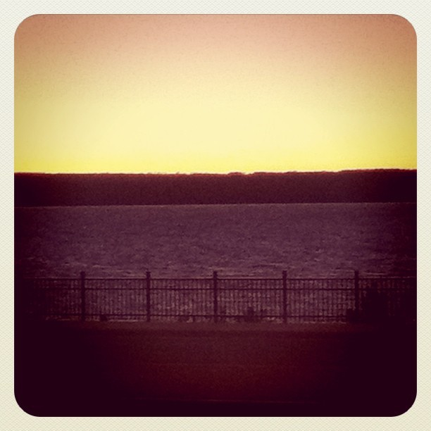 Chequamegon Bay sunset.  (Taken with instagram)