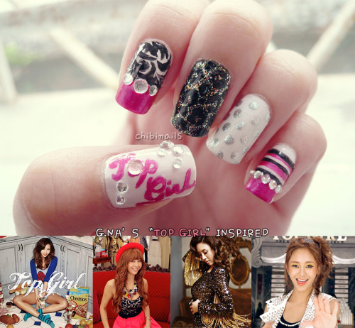 "Inspired by G.NA's latest mini album ""Top Girl"" <3"