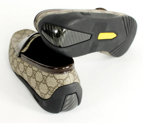 Gucci GG Plus Carbon Fiber Slippers