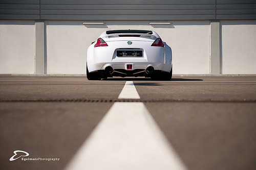 automotivated:  White Line Fever | Nissan 370Z  (by fourcross)