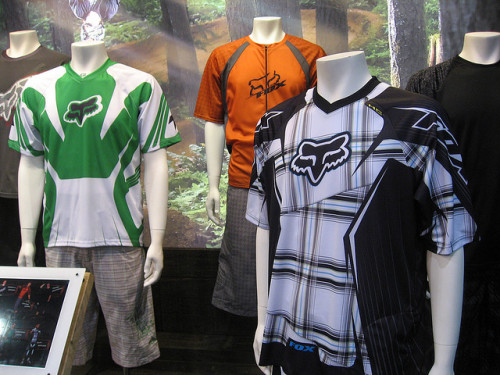 Fox bike clothing by mightypop on Flickr.
