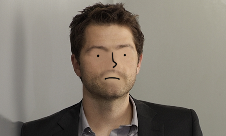 characterswithlaytonsface:  Misha Collins Requested by jaredpotterlecki