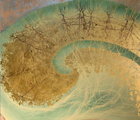 Hippocampus II, detail. 16 x 16 print by Greg Dunn (via Bioephemera)