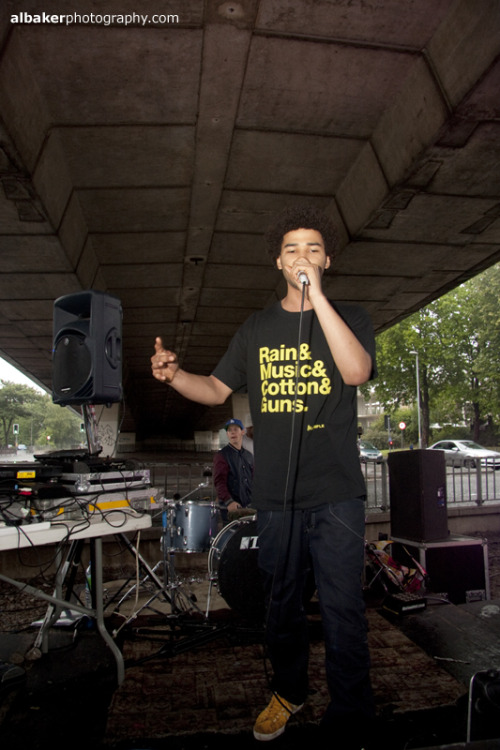 L-Digz repping the Manchester Tee at Hulme Graffitti Jam   Buy Online at http://www.exshop.bigcartel.com Check out http://www.examplemagazine.com