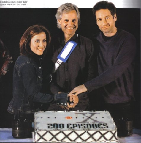 200th anniversary: David, Gillian and Chris