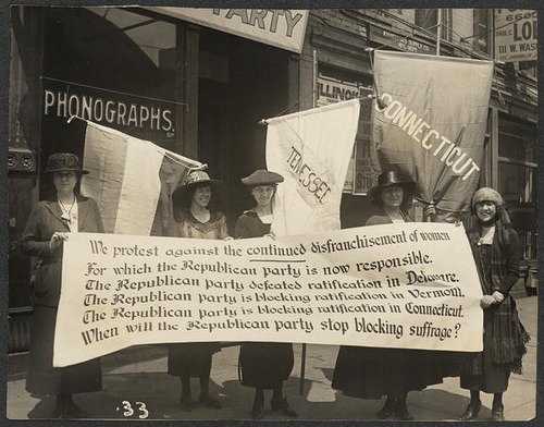 iamwise:  Womens Suffrage by nicolettesara on Flickr.