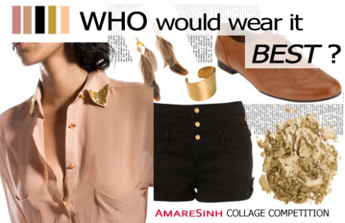 #Competition: WHO WOULD WEAR IT BEST?