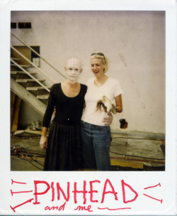PINHEAD AND ME on the set of hellraiser:bloodline
