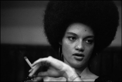 rosaflora:  vintagenoire: It doesn't get much cooler than Kathleen Cleaver. ^^ Agreed
