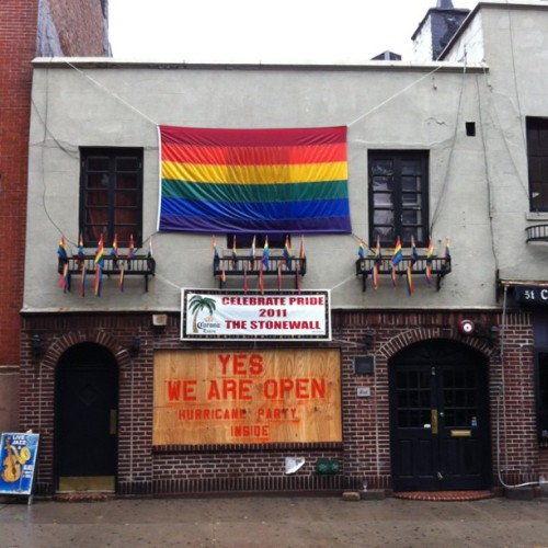 stevekovach:  I may go.  (Taken with Instagram at Stonewall Inn)  If you're looking for a party.