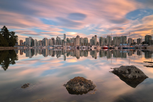 Vancouver from Stanley Park by Scapevision on Flickr.