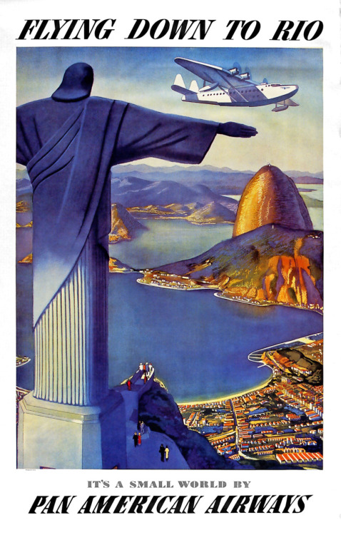 notpulpcovers:  Flying Down To Rio