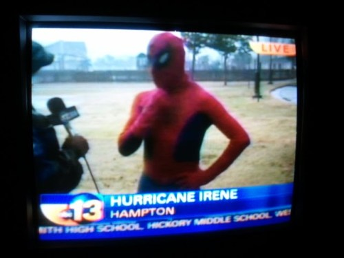 servameservebote:  Clearly no one in the 757 is taking Irene seriously. We've gotta do better yall lol