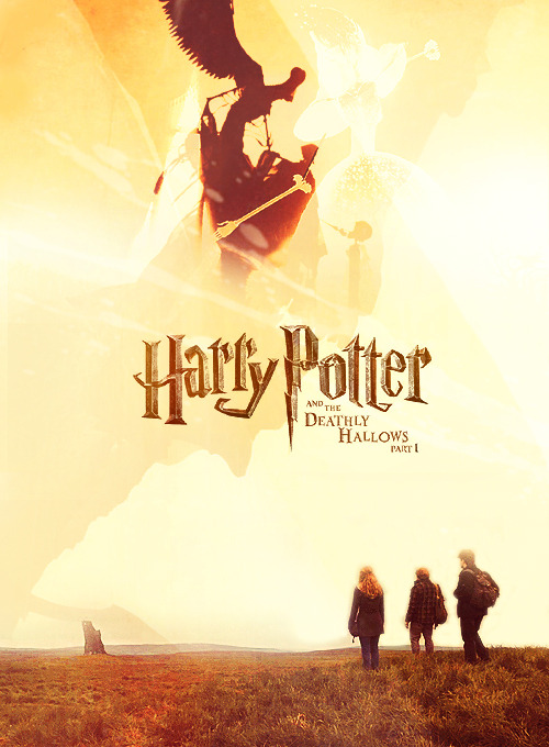 POSTER REMAKE | Harry Potter and the Deathly Hallows Part 1requested by mikihatesgore and ensanglante