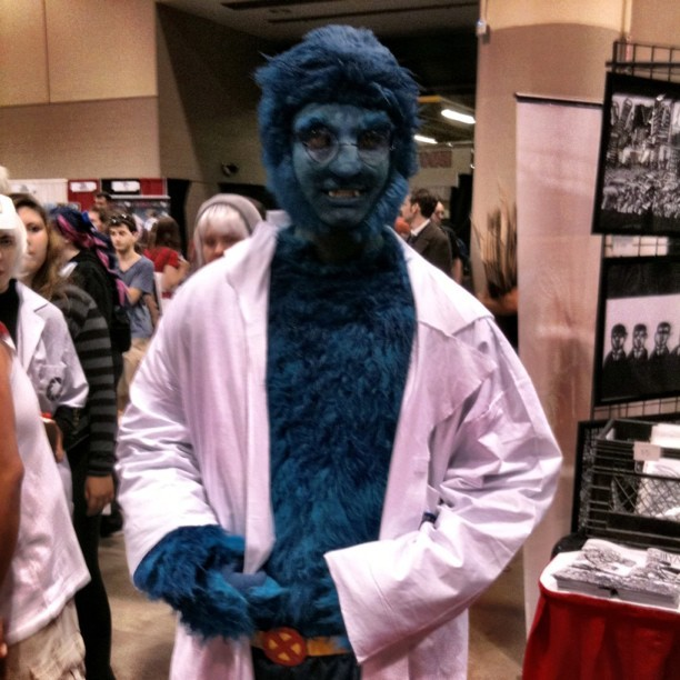 Beast! #fanexpo #cosplay #xmen (Taken with instagram)