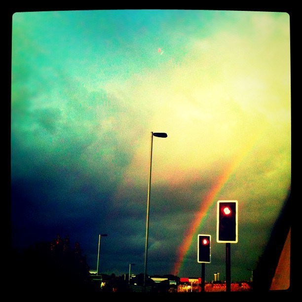 I can see a rainbow  (Taken with instagram)