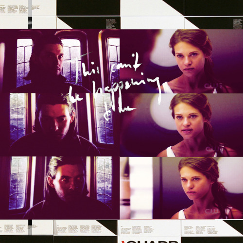 "vampireacademyonline:   ""The hell I will,"" I said, both answering her aloud and addressing him. ""I just furthered your case.""  ""We were doing fine without you,"" said Dimitri stiffly.  ""Oh yeah?"" I couldn't believe what I was hearing. ""You seemed pretty grateful a couple minutes ago when I thought up the idea of you helping us against Strigoi."""