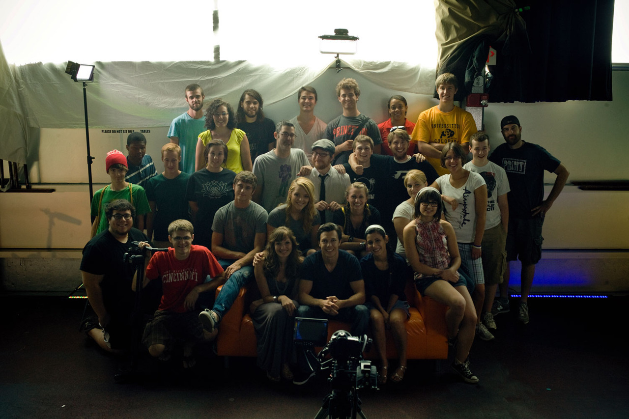 The primary cast and crew of Many Monsters