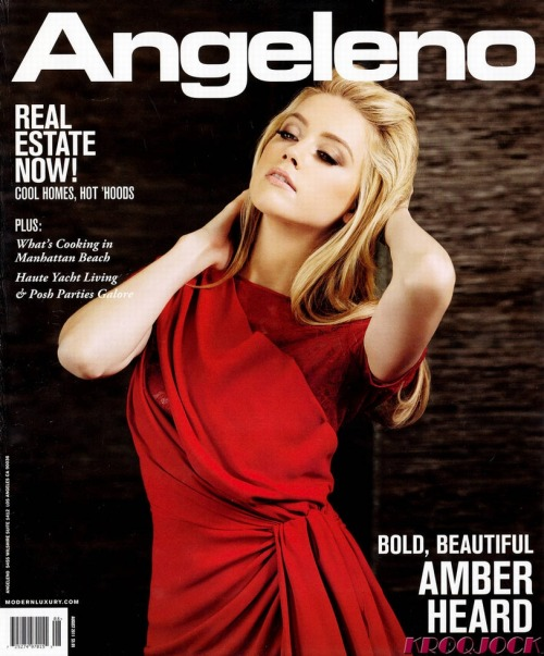 Amber Heard (Angeleno magazine, september 2011)