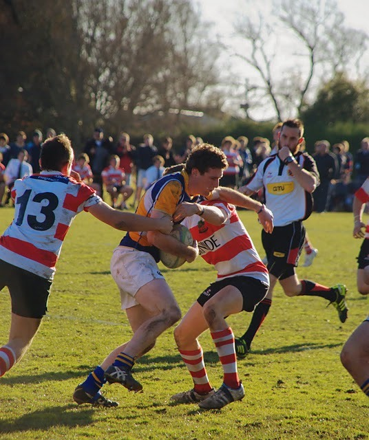 Week 31: The finals of the under-21 regional rugby league at Lincoln University against Burnside