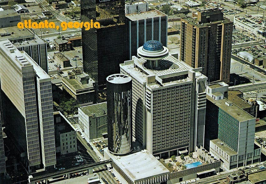 Downtown Atlanta in 1974
