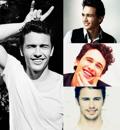 itsmarianaross:    Top 20 Most Beautiful Men | Alphabetic order James Franco
