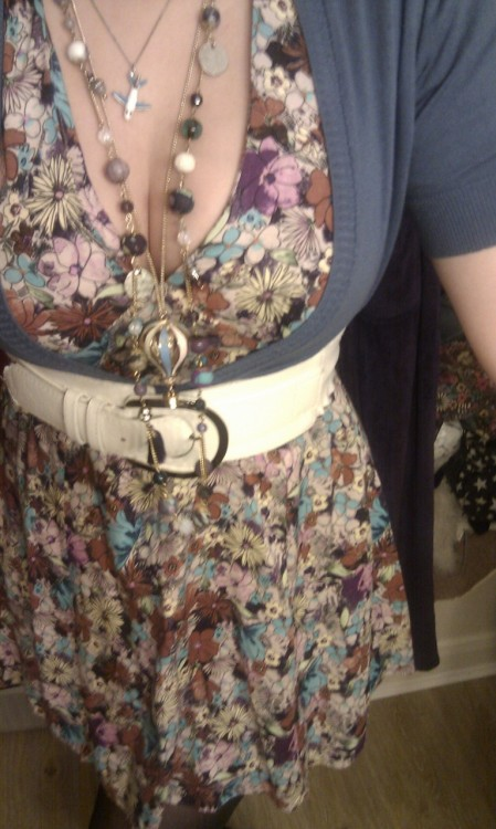 Thinking of wearing this tomorrow so that I might actually look a bit nice for going into work. When I get into work I have to wear my shit uniform but please Tumblr people, does this look nice?!