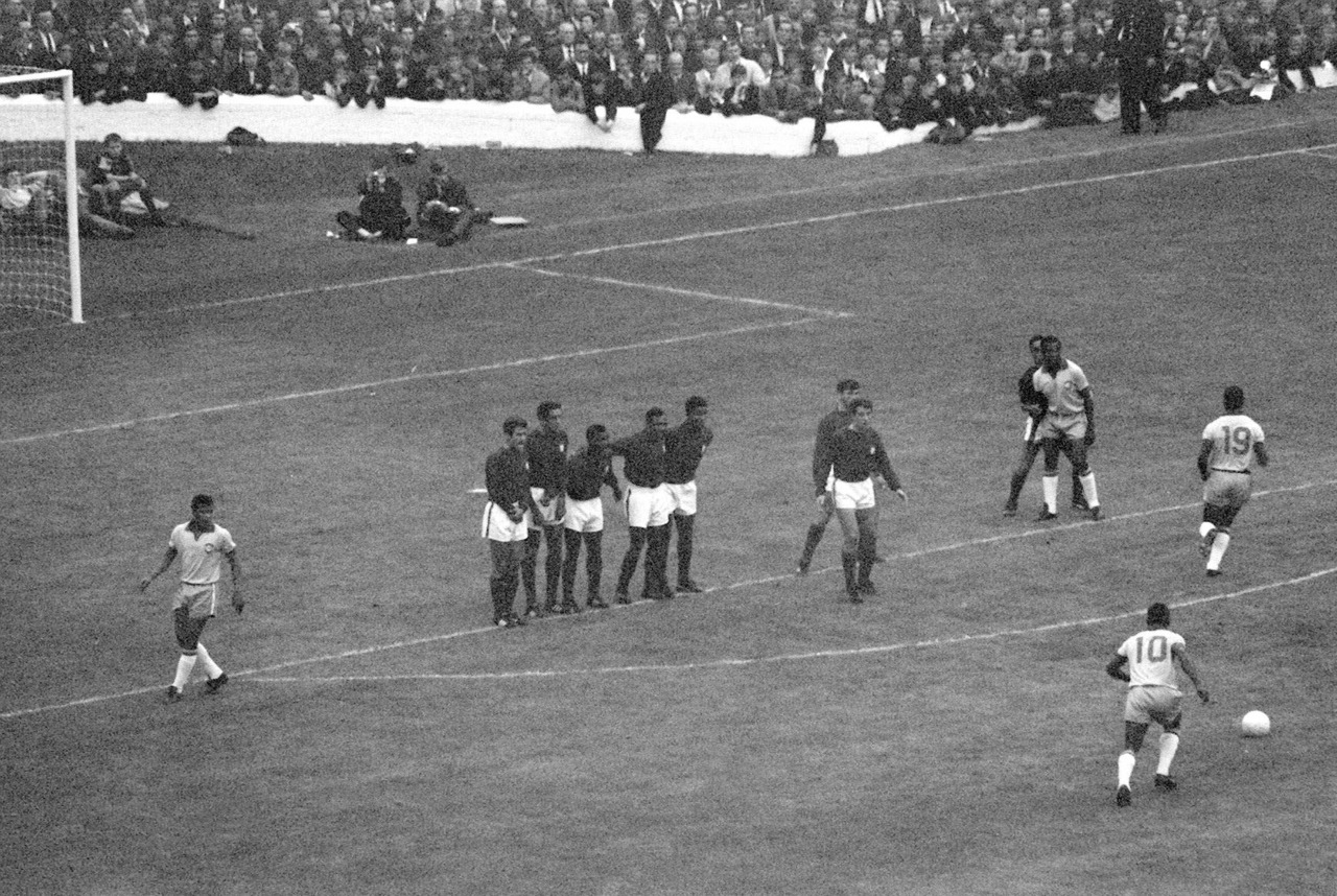 interleaning:  Brazil v Portugal, World Cup 1966.