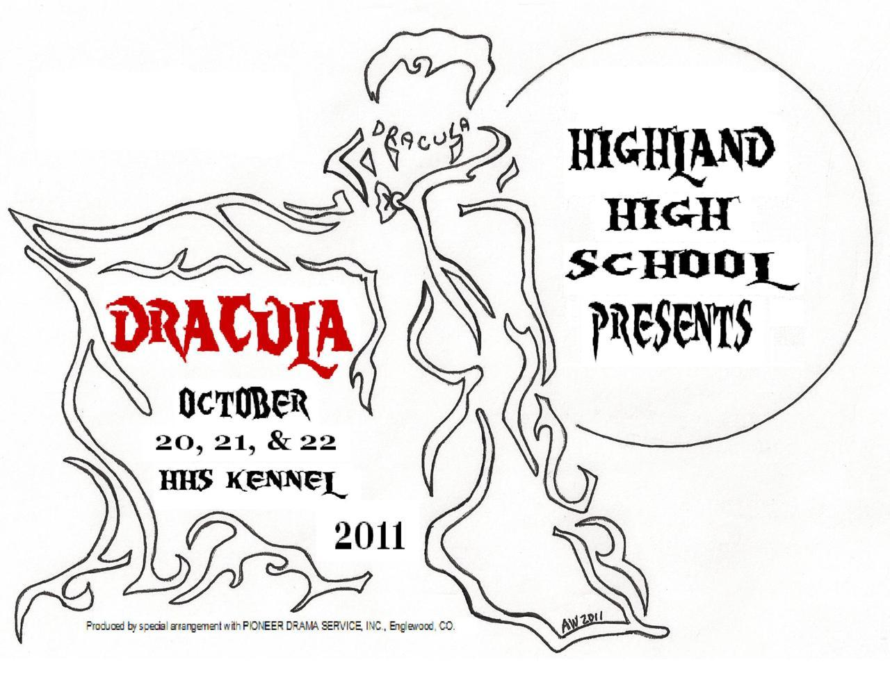 The design I did for my school's fall play.