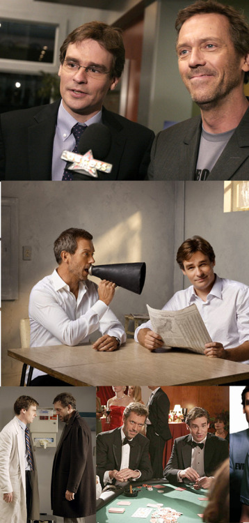 noeliaanne:  Bromances: Doctor husbands (Hugh Laurie/Robert Sean Leonard)