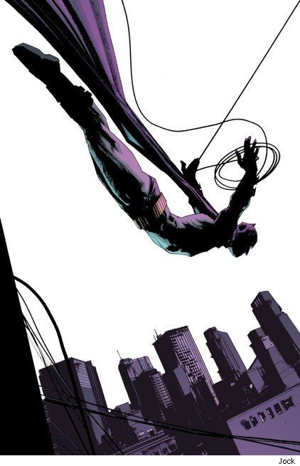 marchingjaybird:  Batman, by the amazing Jock
