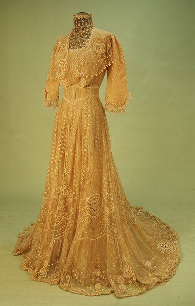 oldrags:  Tea dress, 1900's