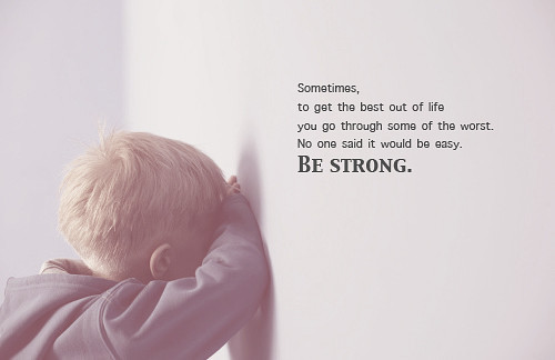 "rivers-of-living-water:  rivers-of-living-water.tumblr.com ""Be Strong"" :)"