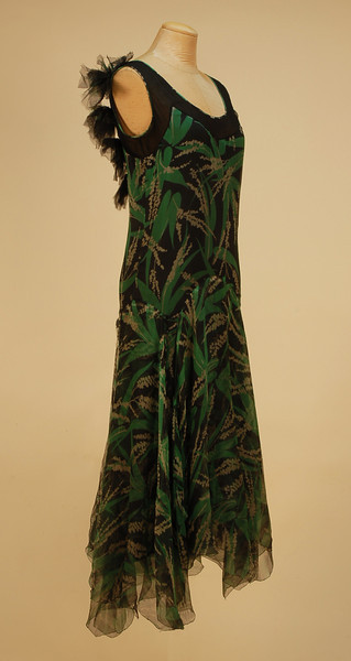 Evening dress, ca 1930